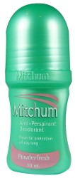 Mitchum Powderfresh Antiperspirant Deod R/O 50ml