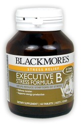 Blackmores Executive B Stress Formula With Herbs High Potency Tablets 62