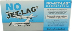 No-Jetlag Homeopathic Tablets 32 (Enough for 50 hours flying time)