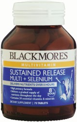 Blackmores Sustained Release Multi + Antioxidants Tablets 75