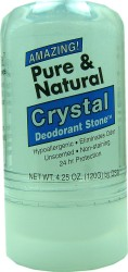 Pure and Natural Crystal Deodorant Stone 120g