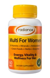 Radiance Multi for Women Tablets 60