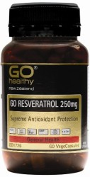 Go Resveratrol 250mg Vegecaps 30