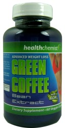 Green Coffee Bean Extract Capsules 60