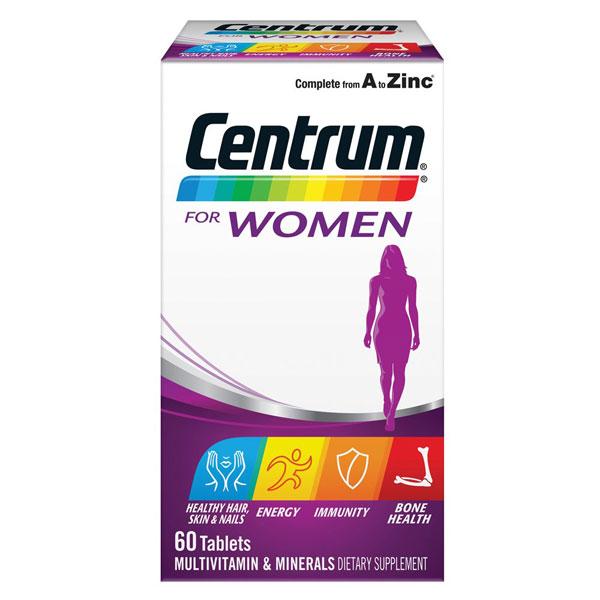 Buy Centrum For Women Tabs 60 At Health Chemist Online