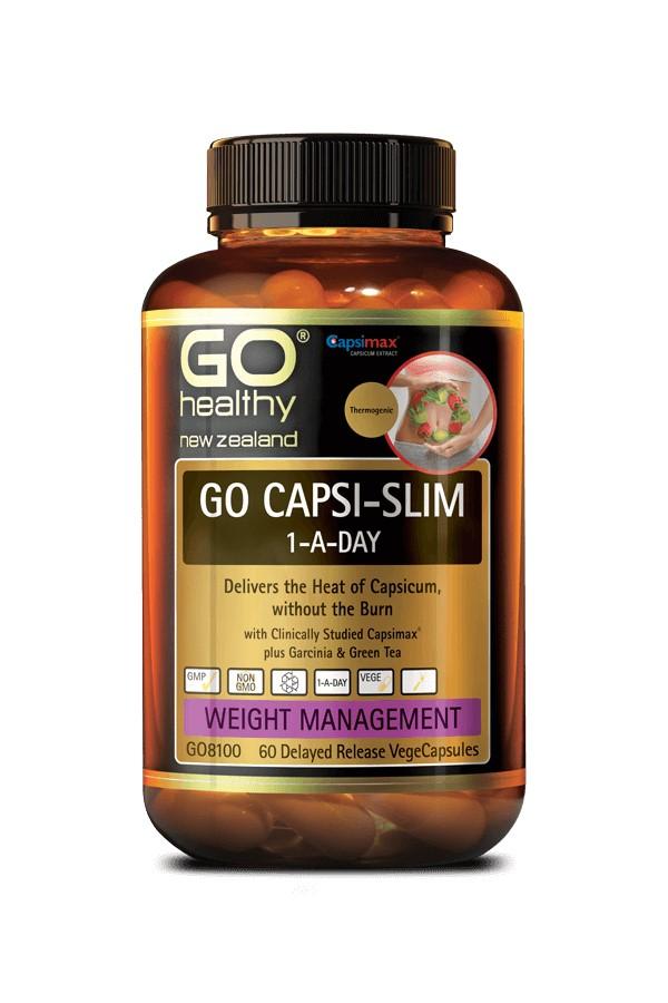 Buy GO Capsi-Slim 1-A-Day 120 VegeCapsules at Health..