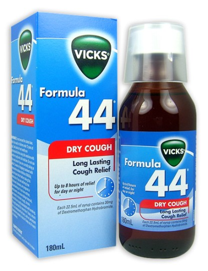 Buy Vicks Formula 44 Cough Suppressant 180ml At Health