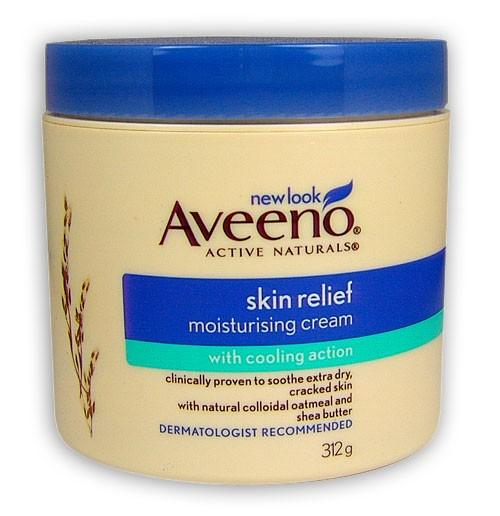 Buy Aveeno Skin Relief Moisturising Cream 312g At Health
