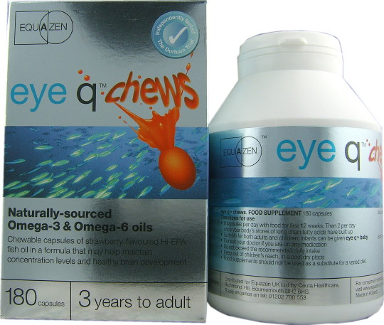 Buy Equazen Eye Q Chews 180 Capsules At Health Chemist