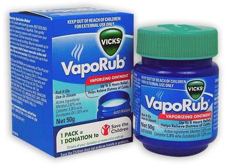 Buy Vicks Vaporub Vaporising Ointment 50g At Health