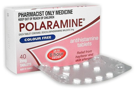 Buy Polaramine 2mg Tablets 40 At Health Chemist Online
