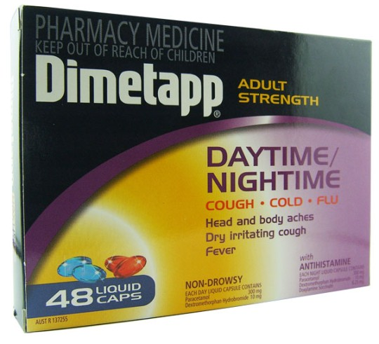 Dimetapp for adults