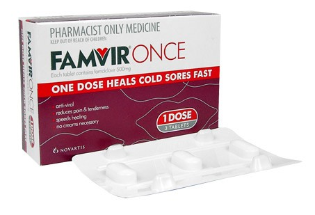 Famvir prescription