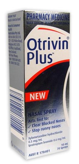 Buy Otrivin Plus Nasal Spray 10ml Limit 3 Bottles Per