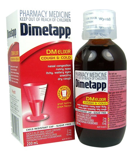 Buy Dimetapp Dm Cough And Cold Elixir 200ml At Health