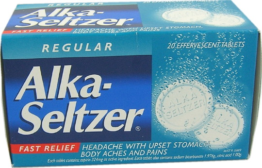 Buy Alka Seltzer Effervescent Tablets Regular 20 At Health