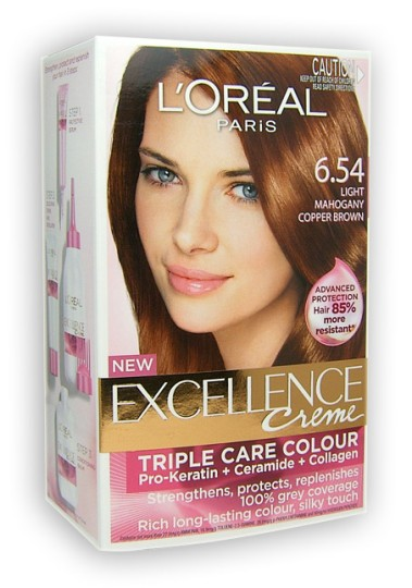 buy loreal excellence mahogany copper brown 654 at health