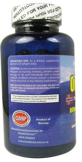 Buy absolute omega 3 norwegian fish oil softgels 60 at for Norwegian fish oil