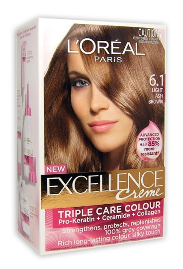 Buy Loreal Excellence Light Ash Brown 6 1 At Health