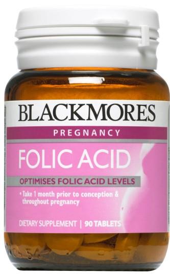 Buy Blackmores Folic Acid 500mcg Tablets 90 At Health