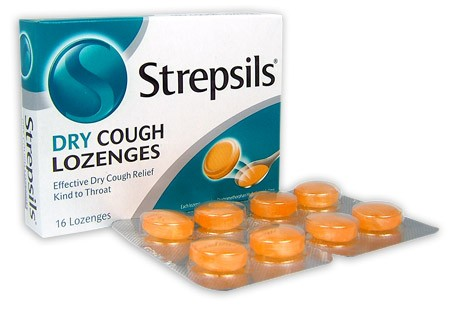 Buy strepsils dry cough lozenges 16 at health chemist