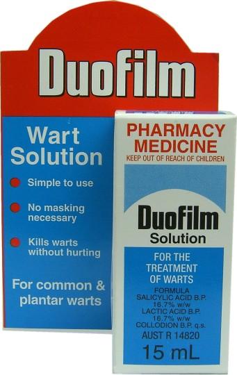 Buy Duofilm Wart Solution 15ml at Health Chemist Online ...