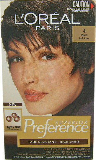 Buy Loreal Preference Tahiti Dark Brown 4 At Health