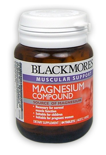 Buy Blackmores Magnesium Compound Tablets 84 At Health