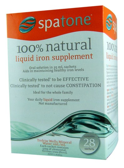 Buy Spatone 100 Natural Liquid Iron Supplement 28