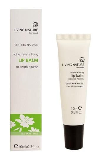 Buy Living Nature Manuka Honey Lip Balm 10ml At Health