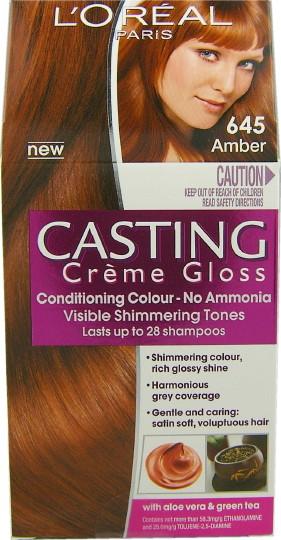 El post de las zanahorias casting cr me gloss 645 amber - Bano de color loreal ...