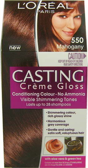 Casting Creme Gloss Mahogany 550
