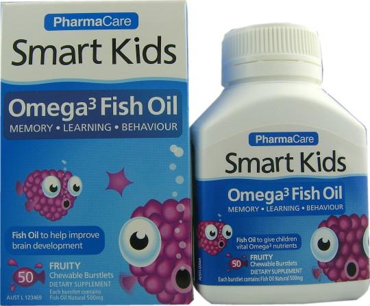 buy bioglan smart kids omega 3 fish oil chewy burstlets 50 ForFish Oil For Children
