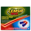 Lemsip MAX Cold & Flu with Decongestant Capsules 16