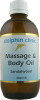 Dolphin Sandalwood Massage & Body Oil 200ml