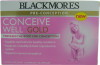 Blackmores Conceive Well Gold 28 Tablets and 28 Capsules