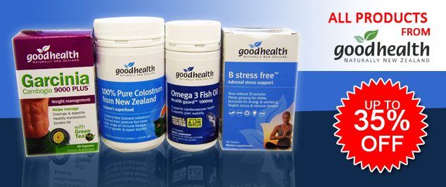 Goodhealth up to 35% off
