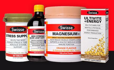 SWISSE product range